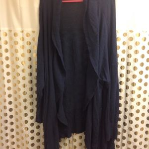 Old Navy Sweaters - Old Navy Blue Cocoon Cardigan 4X Plus